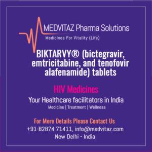 BIKTARVY® (bictegravir, emtricitabine, and tenofovir alafenamide) tablets