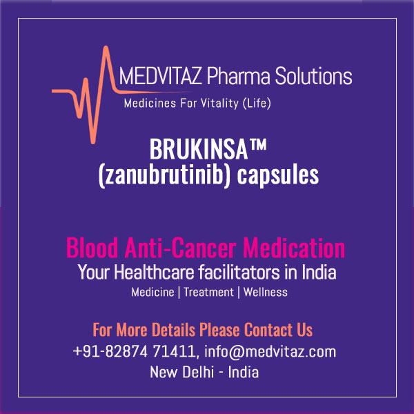 BRUKINSA (zanubrutinib) capsules, for oral use. Initial U.S. Approval: 2019