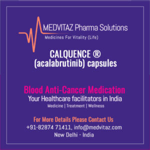 CALQUENCE ® (acalabrutinib) capsules, for oral use