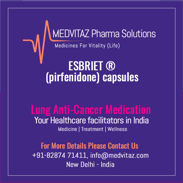 ESBRIET (pirfenidone) capsules and film-coated tablets, for oral use Initial U.S. Approval: 2014