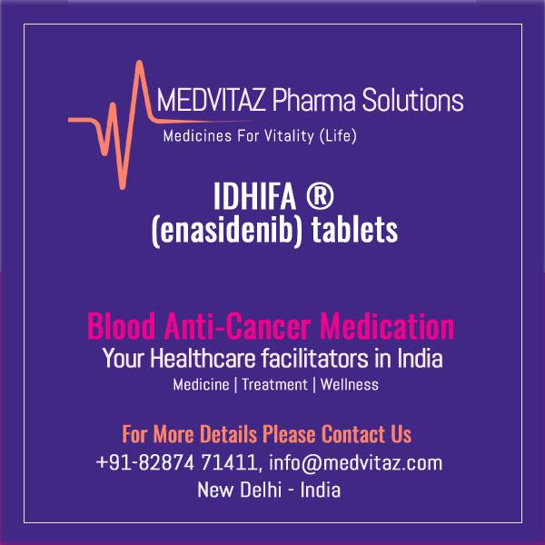 IDHIFA (enasidenib) tablets, for oral use. Initial U.S. Approval: 2017