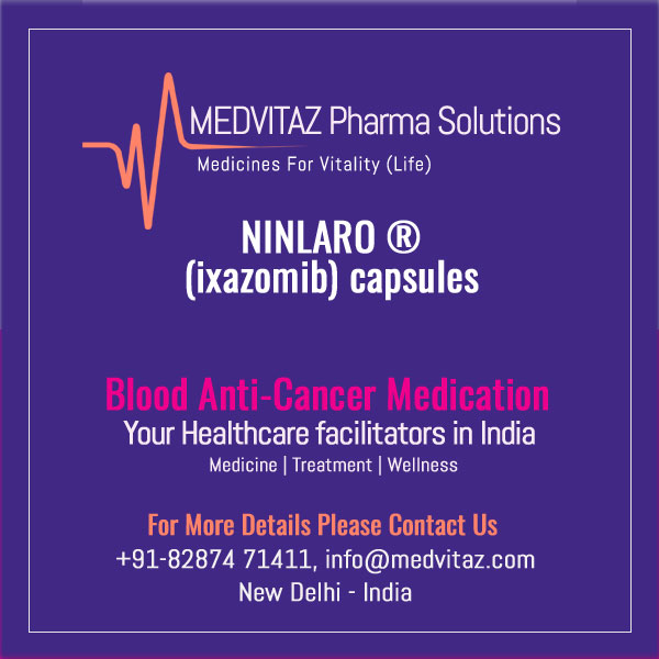 NINLARO (ixazomib) capsules, for oral use. Initial U.S. Approval: 2015