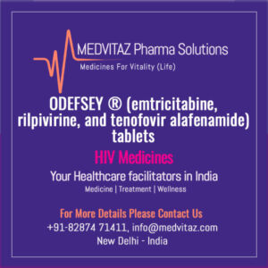 ODEFSEY® (emtricitabine, rilpivirine, and tenofovir alafenamide) tablets