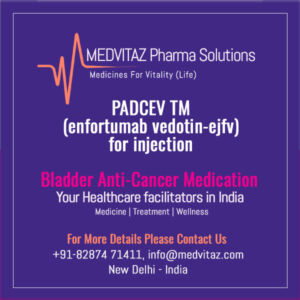 PADCEV ™ (enfortumab vedotin-ejfv) for injection, for intravenous use. Initial U.S. Approval: 2019