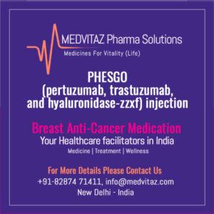 PHESGO (pertuzumab, trastuzumab, and hyaluronidase-zzxf) injection
