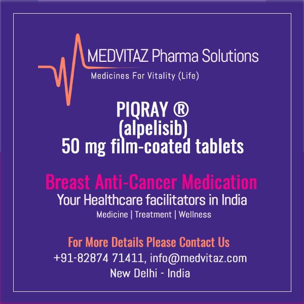 PIQRAY (alpelisib) 50 mg film-coated tablets