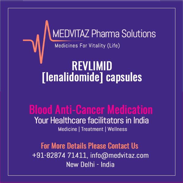 REVLIMID [lenalidomide] capsules, for oral use. Initial US Approval: 2005