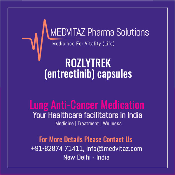 ROZLYTREK (entrectinib) capsules, for oral use Initial U.S. Approval: 2019