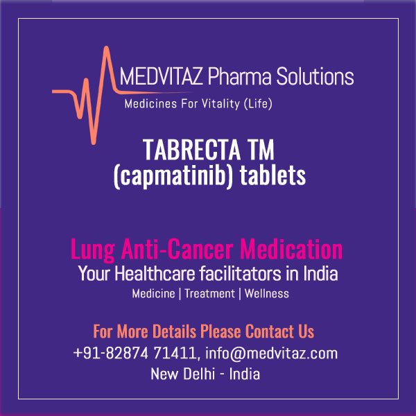 TABRECTA (capmatinib) tablets, for oral use Initial U.S. Approval: 2020