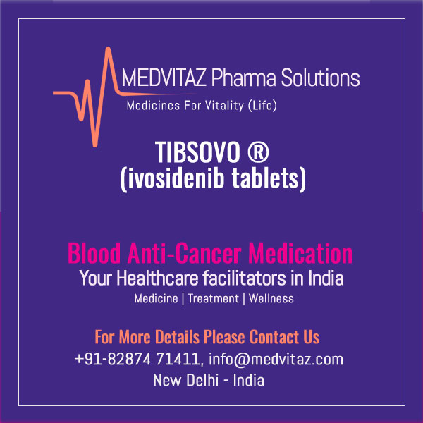 TIBSOVO (ivosidenib tablets), for oral use. Initial U.S. Approval: 2018