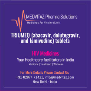 TRIUMEQ (abacavir, dolutegravir, and lamivudine) tablets