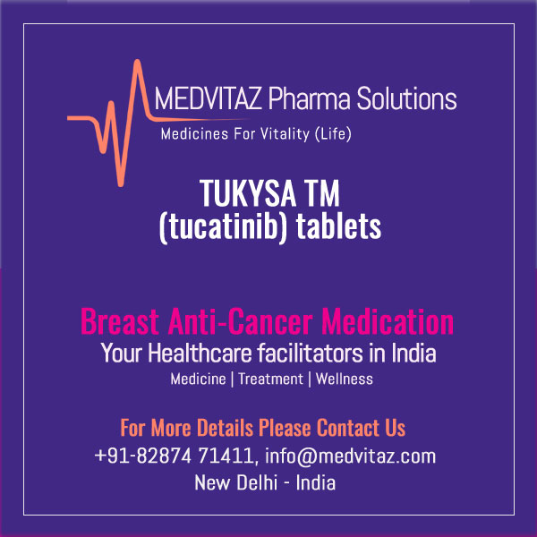 TUKYSA (tucatinib) tablets, for oral use Initial U.S. Approval: 2020