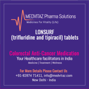 LONSURF (trifluridine and tipiracil) tablets Price In India