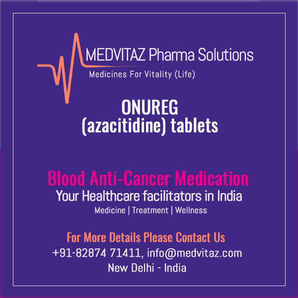 ONUREG (azacitidine) tablets, for oral use. Initial U.S. Approval: 2004