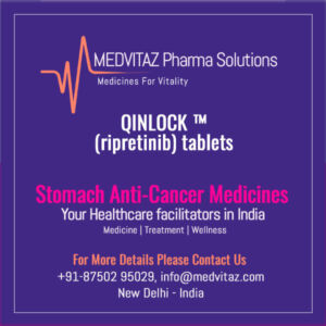 QINLOCK (ripretinib) tablets price and cost in India