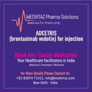 ADCETRIS (brentuximab vedotin) for injection Price & Cost in India