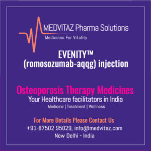 EVENITY (romosozumab-aqqg) injection Price & Cost In India