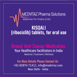 KISQALI (ribociclib) tablets Cost and Price In India
