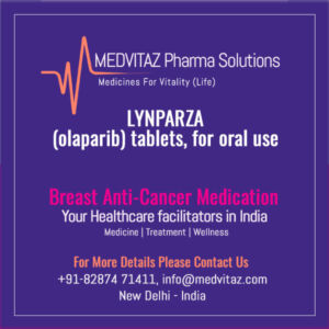 LYNPARZA (olaparib) tablets Cost and Price In India