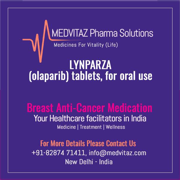 LYNPARZA (olaparib) tablets. FDA-Approved