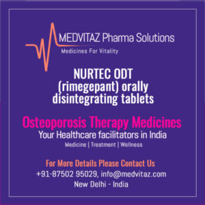 NURTEC ODT (rimegepant) tablets Price & Cost In india