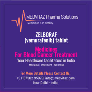 ZELBORAF (vemurafenib) tablet Price & Cost In India