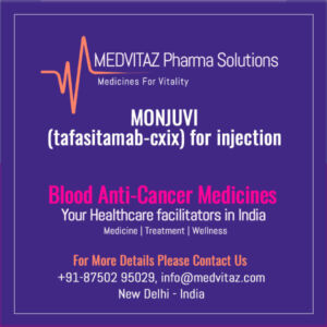 MONJUVI (tafasitamab-cxix) for injection price In Inida