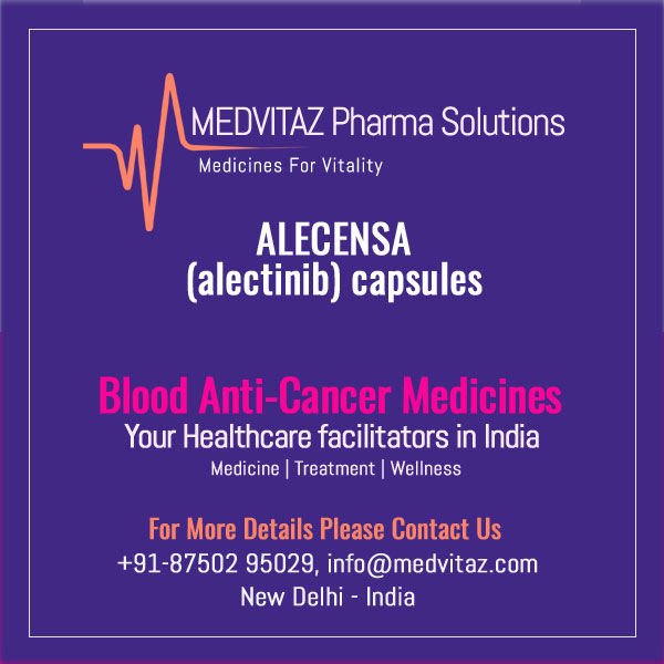 ALECENSA (alectinib) capsules, for oral use. Initial U.S. Approval: 2015