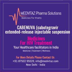 CABENUVA (cabotegravir injectable suspension)