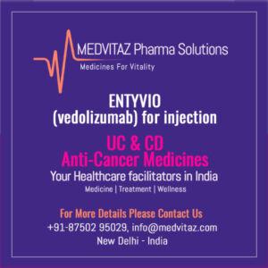 ENTYVIO (vedolizumab) for injection Delhi india