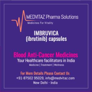 IMBRUVICA (ibrutinib) capsules Delhi india