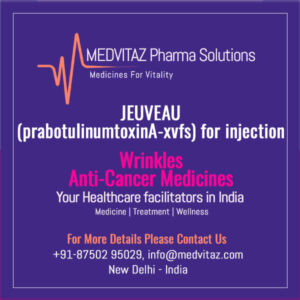 JEUVEAU (prabotulinumtoxinA-xvfs) for injection Delhi India