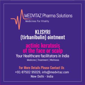 KLISYRI (tirbanibulin) ointment delhi India