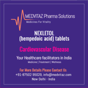 NEXLETOL (bempedoic acid) tablets Delhi India