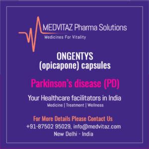 ONGENTYS (opicapone) capsules Delhi india