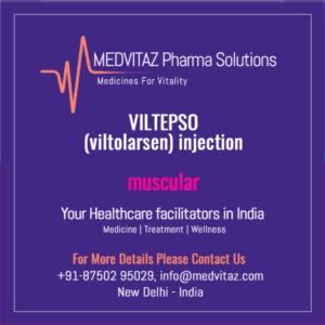 VILTEPSO (viltolarsen) injection Delhi India